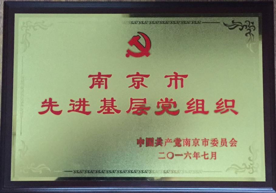 南京市先进基层党组织